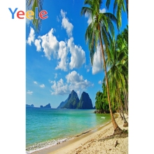 Yeele Modern Simple Seaside Landscape Palm Beach Photography Backdrops Wallpapers of Photographic Backgrounds For Photo Studio