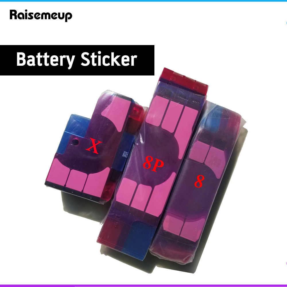 Batterij Sticker Voor Iphone X 6 6S 7 8 Plus 3M Dubbele Tape Pull Reis Lijm Vervanging onderdelen Voor Iphone 5 5C 5S 4 4S Film