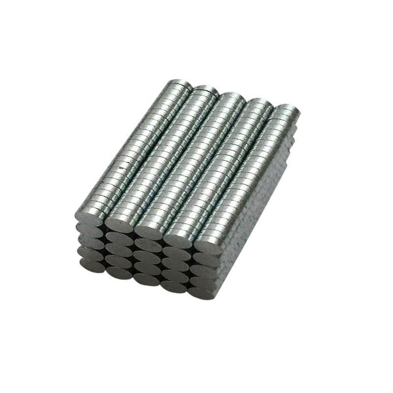 3mm x 1mm Round Ndfeb Neodymium Disc Magnets Dia N50 Super Powerful Strong Rare Earth Ndfeb Magnet 100pcs 3 x 4 8mm cylindrical ndfeb magnet silver 100pcs
