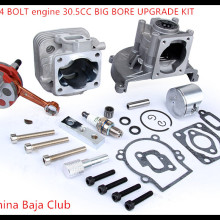 baja parts 2 change 4 bolt engine 30 5cc big bore upgrade kit for 1/