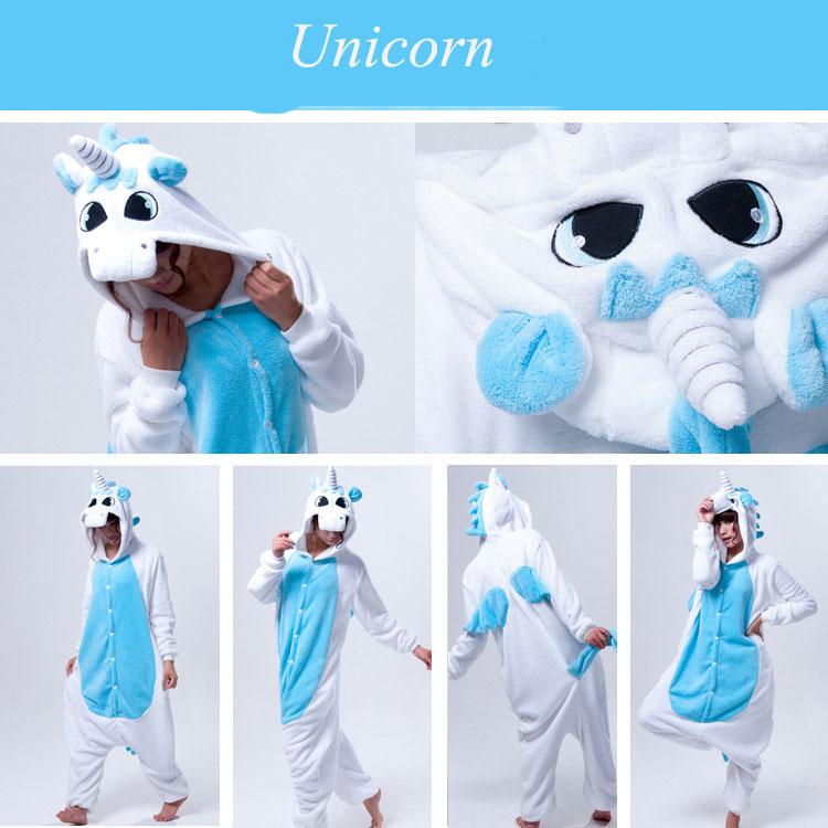 unicorn adult kigurumi onesie