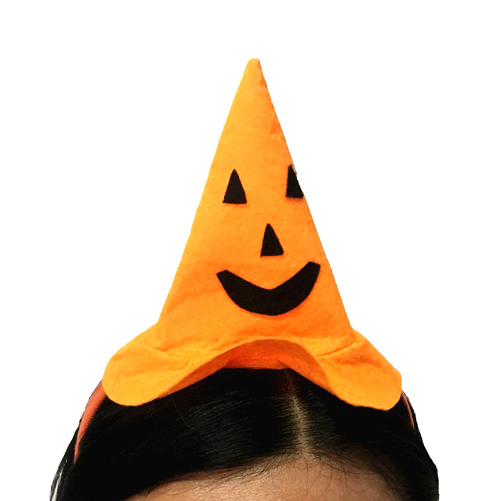 Halloween Costumes Baby Girl Witch Hat Headband Hairband Headpiece Headwear Pumpkin Hat Cap for Children Kids ...