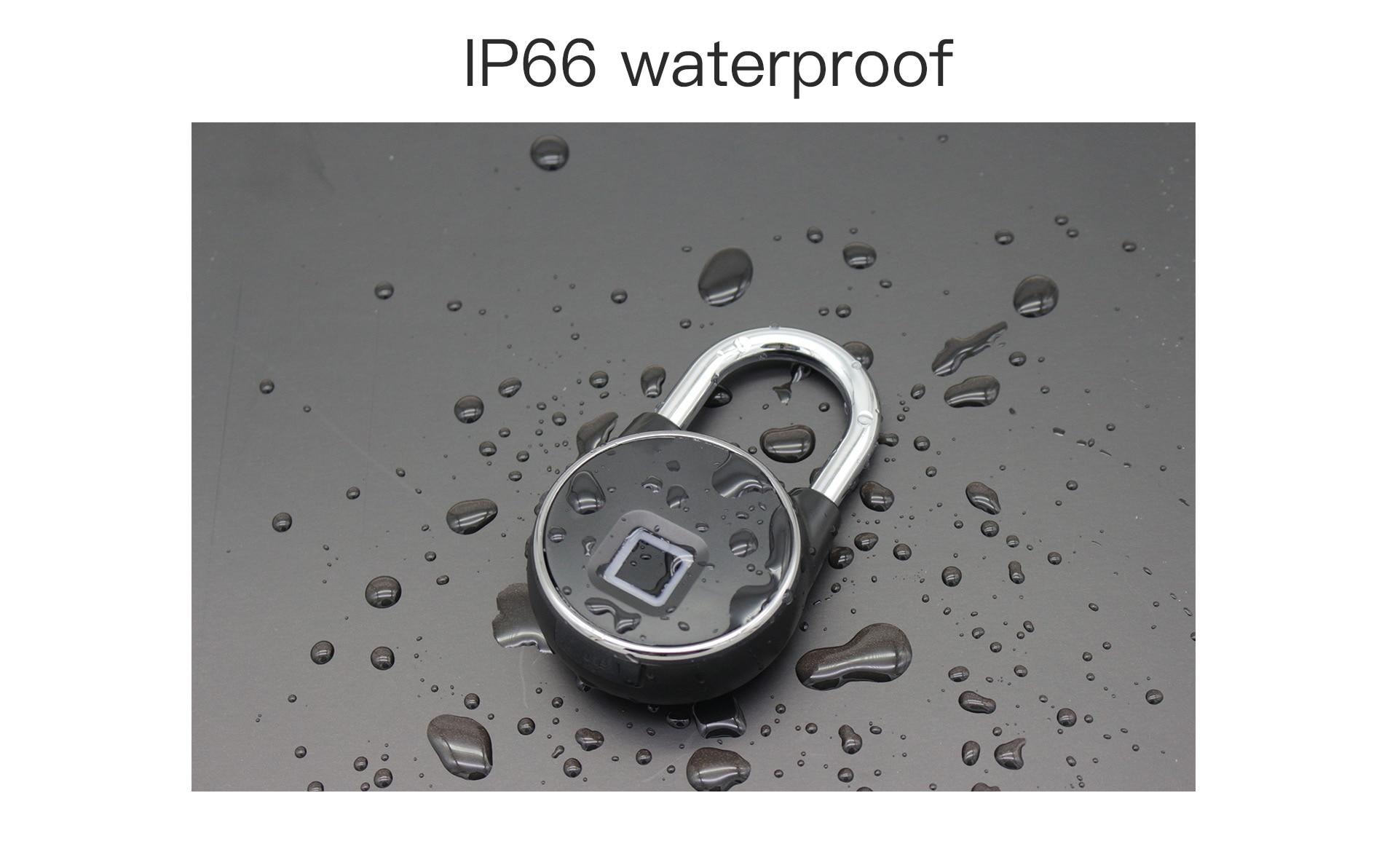 HTB1VAFsXf1H3KVjSZFHq6zKppXal Portable bluetooth Lock Smart Padlock Keyless Fingerprint Lock Anti-Theft Security Door Padlocks for Bag Drawer Suitcase