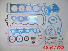 4G54 Full gasket set kit for Mitsubishi PAJERO/L047/V32/MORTERO/PICK-UP/STARBO/TURBO 2555CC 2.6L 8V 83-93 MD997037 50122300