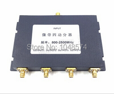 RF coaxial Power Splitter Divider Combiner SMA 2-way 800-2500MHz signal booster