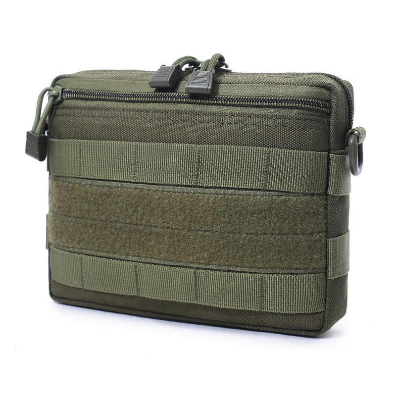 Outdoor Tactical Pouch EDC Nylon Molle Utility Organizer Pouch Toolkit Knife Pouch Storage Bag Waterproof Hunting Field Pouch