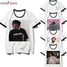 0a9247907899d lil peep rap t shirt hip hop hanukkah tshirt streetwear men rapper music  Men Cool t