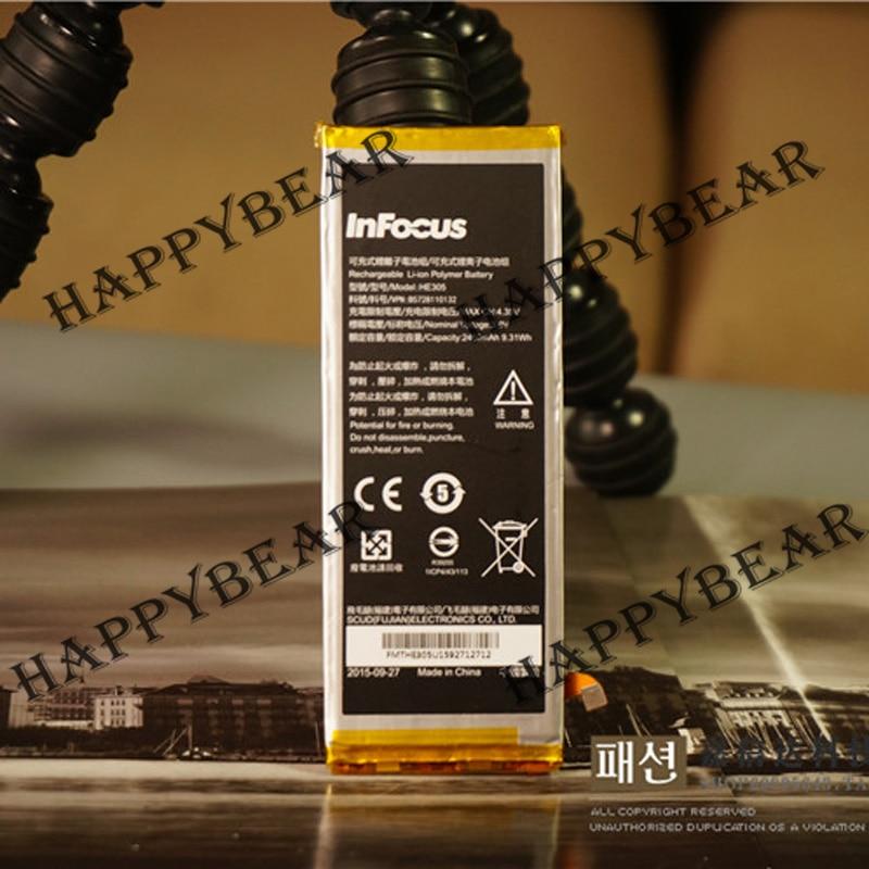 imágenes para Original 2450 mAh Batería de Reemplazo de la Tarjeta para infocus M560 M808 Batería de Gran capacidad