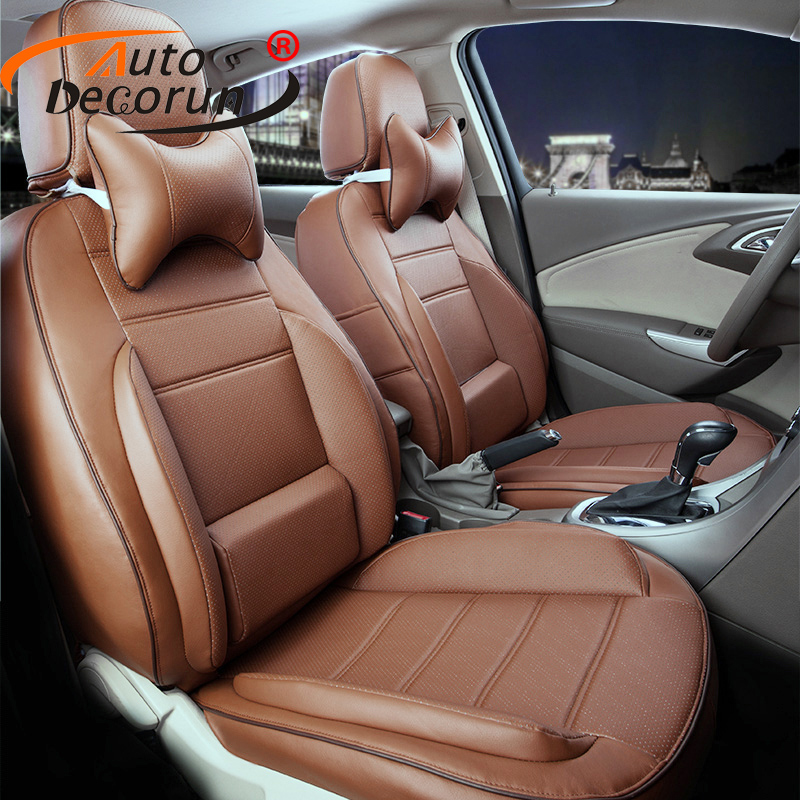 Autodecorun Custom Pu Leather Cover Seats For Infiniti
