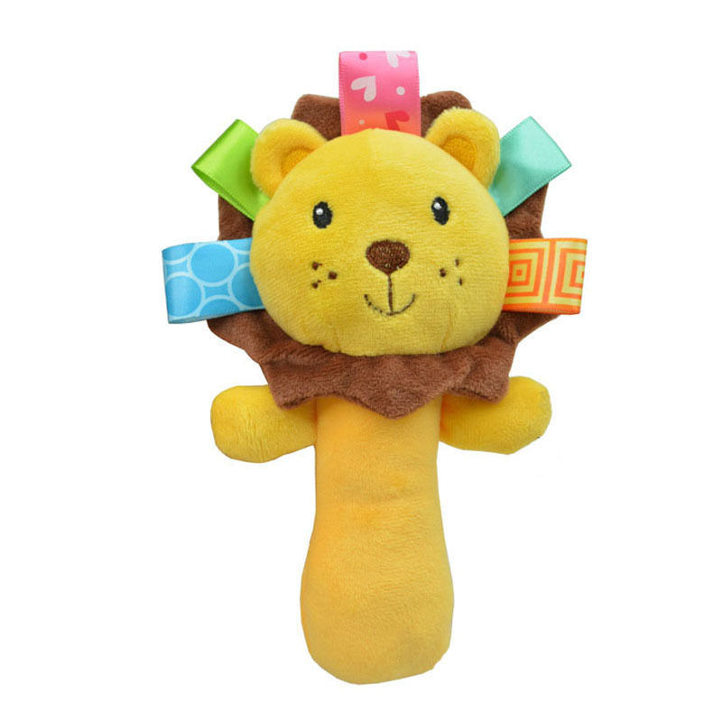 Cute Baby Toys : Sozzy cute cartoon animal musical baby rattle plush infant