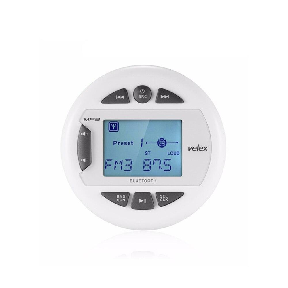 Waterproof Marine Bluetooth Stereo Boat Radio Digital Media Audio FM AM Car MP3 Player USB For