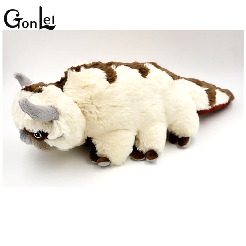 GonLeI 50CM Storlek Anime Kawaii Avatar Senaste Airbender Appa Plysch Toy Mjuka Juguetes Fyllda Animal Brinquedos Doll Kids Leksaker