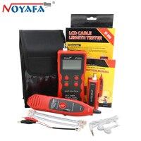 NOYAFA NF 868 RJ11 RJ45 Telephone Wire Tracker Networking Tools Diagnose Tone BNC USB Metal Line LAN Network Cable Length Tester
