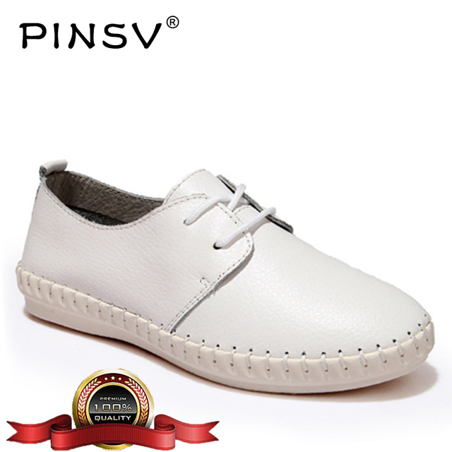 Белые туфли на плоской подошве; женские кроссовки; лоферы из натуральной кожи; женская обувь; женские туфли-оксфорды; Женская Осенняя обувь; женская обувь; 2018