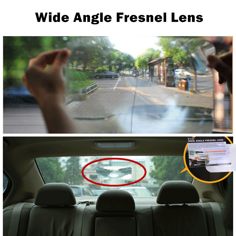 Mirror&Covers Creative Stickers Rear Windshield Wide Angle Useful Enlarge View Angle Optical Auto Car Parking Reversing Sticker