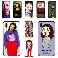 Pattern Miranda Sings Phone Cover for Huawei Mate 10 Pro Case 20 P8 P20 P10 P9 Lite Mini P Smart TPU