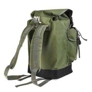 Image 5 - 70L Multifunctional Army Green Large Capacity Canvas Carp Fishing Bag Fishing Tackle Backpack