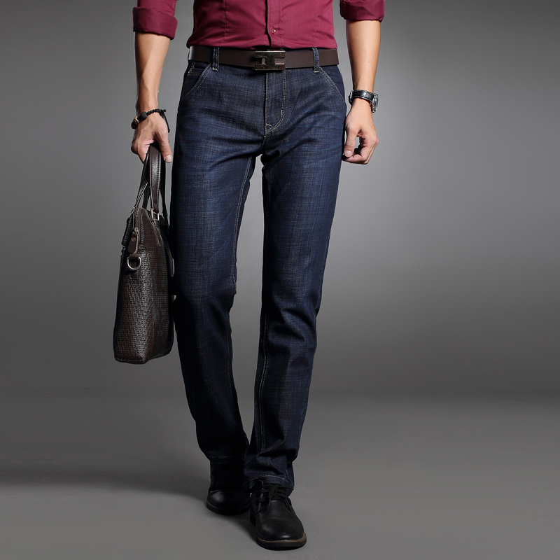 customers first official photos 2019 authentic Dress Jeans For Men