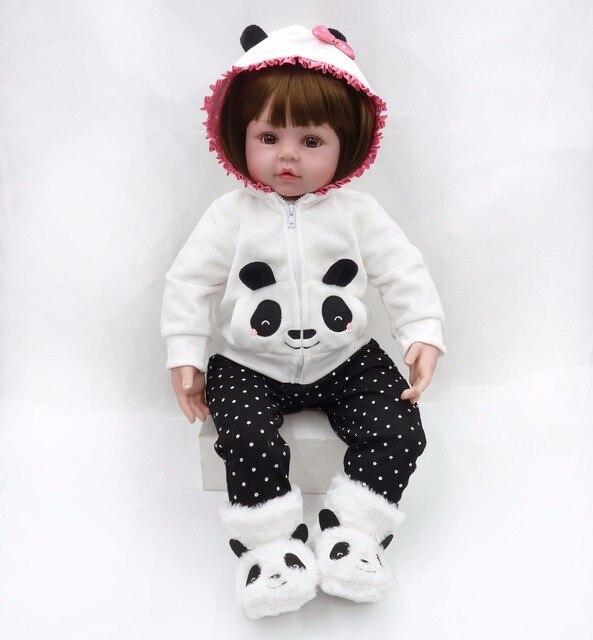 60cm Soft Silicone Reborn Baby Doll Toys