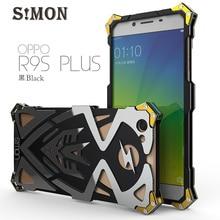OPPO R9S R9S плюс Чехол оригинальный Дизайн панк Броня Heavy пыли с ЧПУ металла алюминиевый Тор Ironman телефон Обложка для OPPO R9S R9S плюс