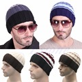 Hombres Mujeres de Punto de Ganchillo Caliente del Invierno de Esquí Sombrero de Gran Tamaño Slouch Unisex Cap Beanie