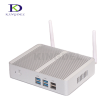 Kingdel Mini itx PC Celeron N3150 Quad Core домашний компьютер HDMI Dual LAN 300 М WIFI Windows 10