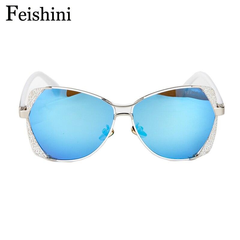 FEISHINI Marke Designer Fashion Eyewear Gradient Vintage Sonnenbrille - Bekleidungszubehör - Foto 5