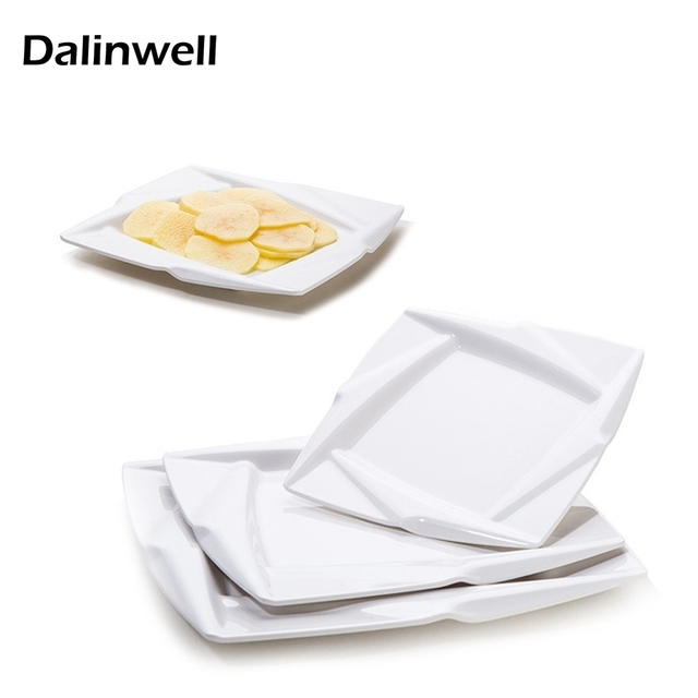 High Quality Imitation Porcelain White Plastic Durable Melamine Square Oval Snack Dish Plate Restaurant Tableware Hotel  sc 1 st  AliExpress.com & High Quality Imitation Porcelain White Plastic Durable Melamine ...
