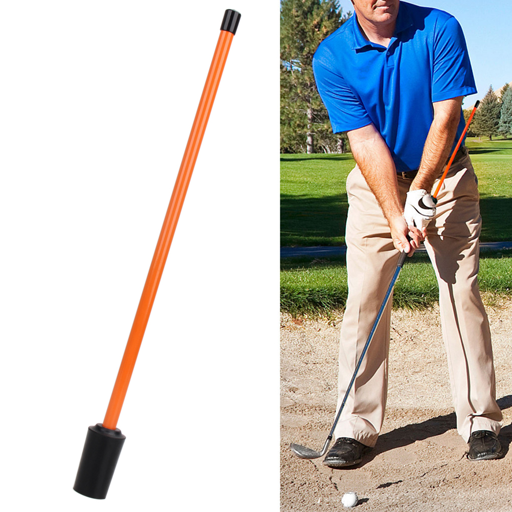 1pcsPracticing Guide Metal Golf Swing Trainer Beginner Gesture Alignment Correction Training Aid for Golf Accessories Tool 45 cm