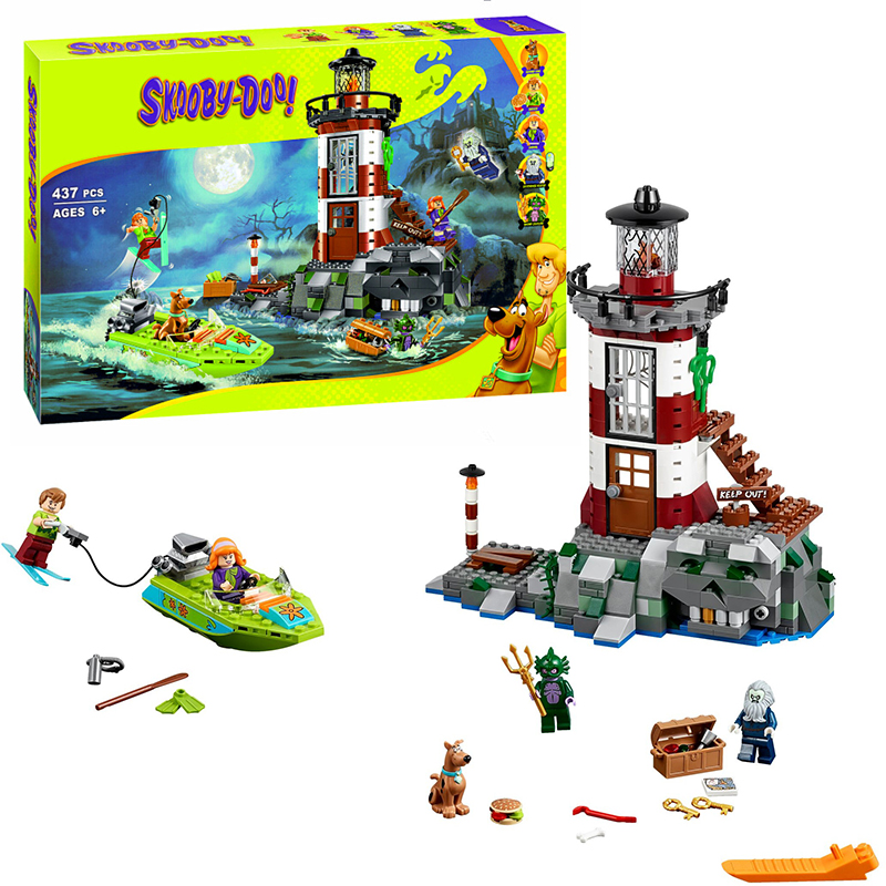 Bela 10431 Scooby-Doo Haunted Lighthouse building Blocks Bricks Toys Boy Game Model Car Gift Lorry Compatible with Lepin 75903 lepin 22001 pirate ship imperial warships model building block briks toys gift 1717pcs compatible legoed 10210