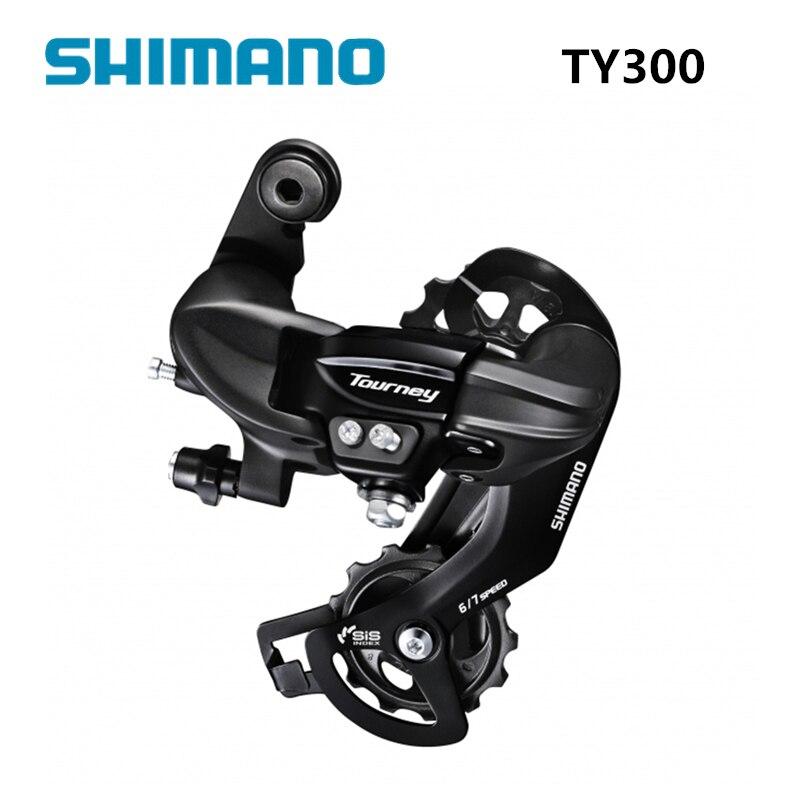 Задний переключатель передач TOURNEY TY300 6S 7S задний переключатель скорости, деталь горного велосипеда TY300 TX35, задний переключатель передач