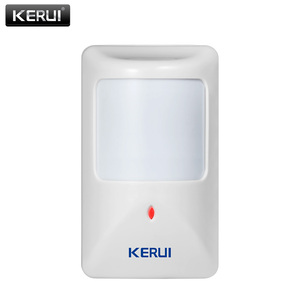 Image 1 - KERUI P812 New Wired Infrared Motion Sensor Alarm Detector for GSM Security Burglar Alarm Wired Zones Home alarm system