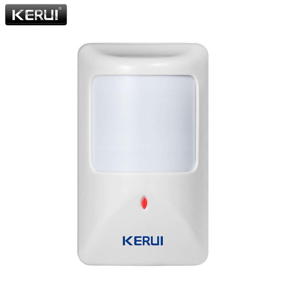 KERUI P812 New Wired Infrarot Motion Sensor Alarm Detektor für GSM Sicherheit Alarmanlage Wired Zonen Home-alarm-system
