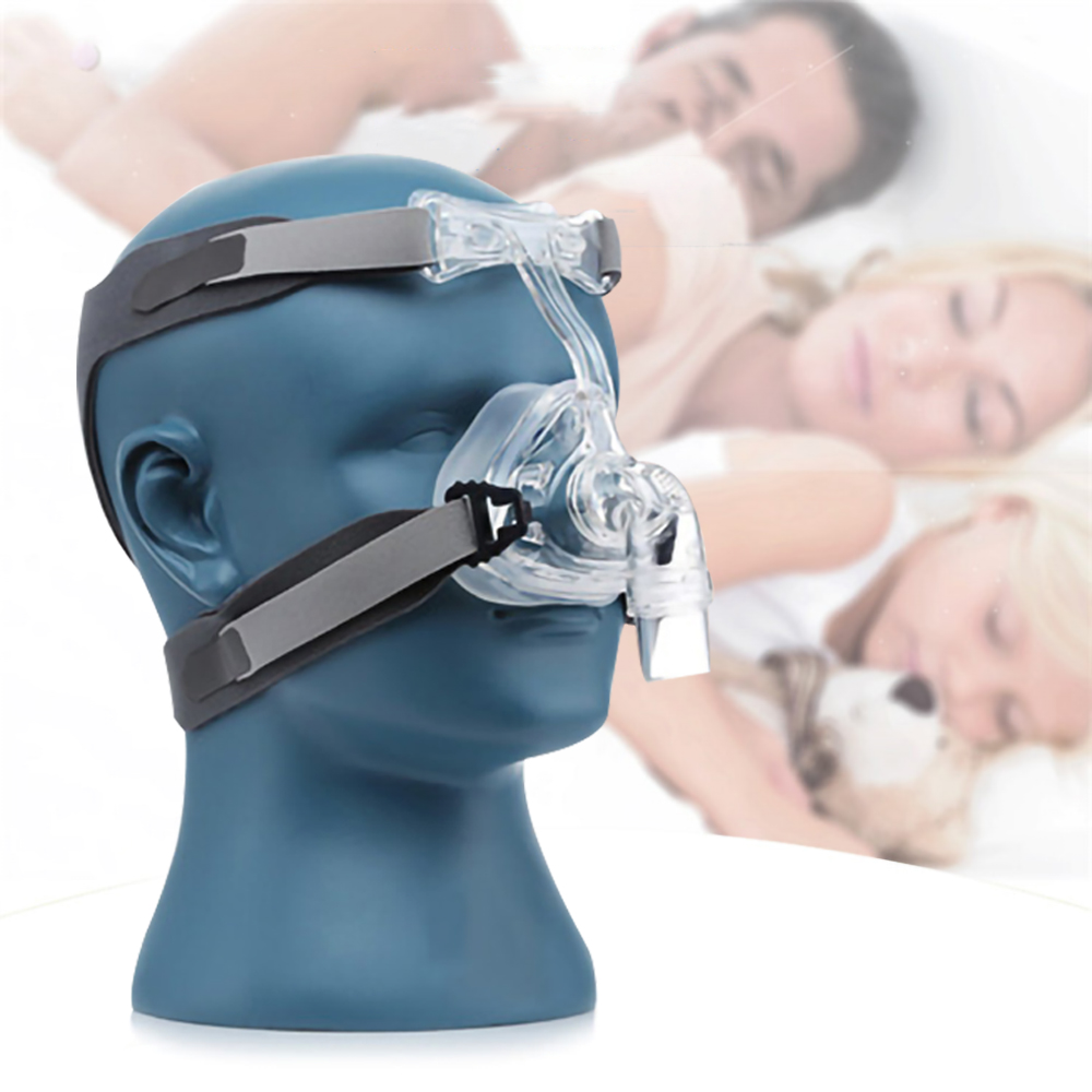 Nasal Mask CPAP Mask Sleep Mask with Headgear S M L Different Size Suitable For CPAP