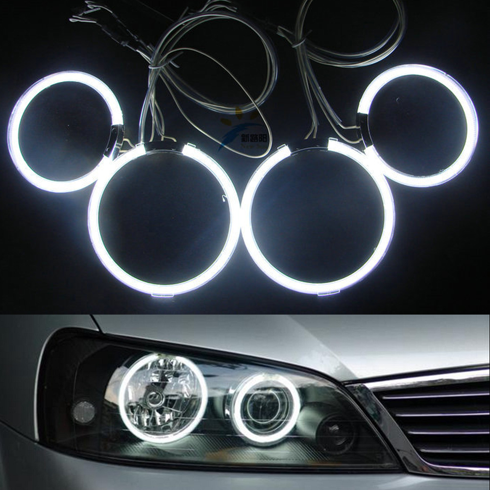 2x95mm +2x125mm CCFL Angel Eyes Kit for Ford Terria Halo Ring cathode tube 7 colors option With 2 inverters