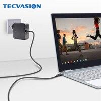 90 w 65 usb tipo c portátil adaptador de parede pd carregador para macbook 2018 samsung chromebook mais thinkpad x1 yoga 920 fujitsu u938|Adaptador para laptop|   -