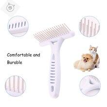 Суперпитомец, белые грабли, расческа для собак, короткие, длинные волосы, мех, удаление, кошка, собака, щетка, инструменты для ухода, товары для собак