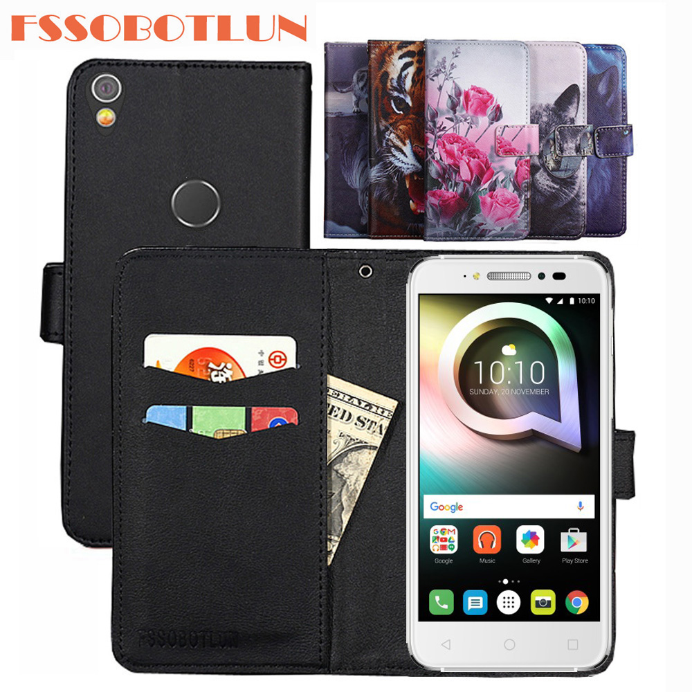 For <font><b>Alcatel</b></font> Shine Lite <font><b>5080X</b></font> 5080 <font><b>Case</b></font> PU Leather Retro Flip Cover Shell Magnetic Fashion Wallet <font><b>Cases</b></font> <font><b>Alcatel</b></font> Shine Lite 5.0