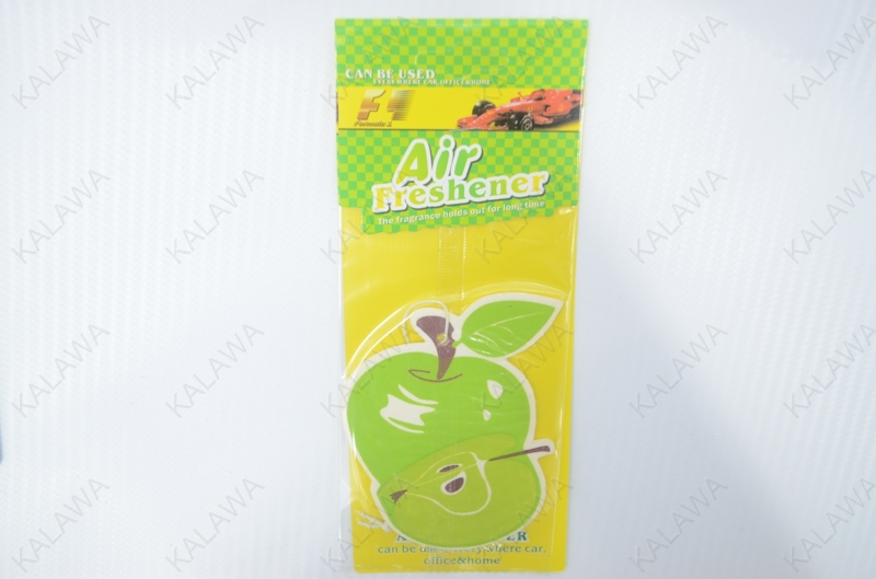 10PC Car perfume (car air freshener) (paper perfume) air freshener, a variety of shapes Apple Shape FREESHIPPING #D