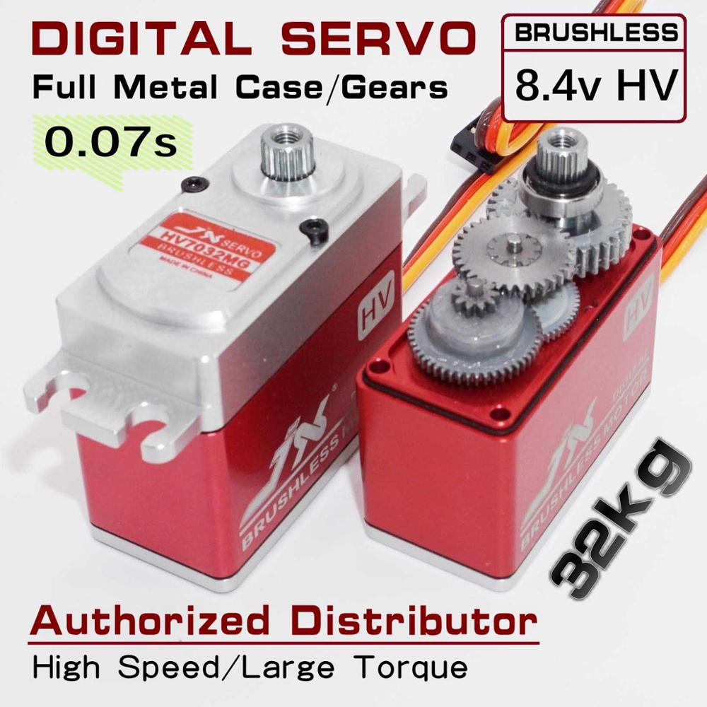 JX HV7032MG 32kg large torque water proof metal gear standard digital BRUSHLESS servo high speed servo