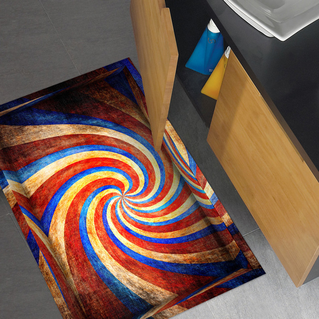aliexpress.com : acquista 3d anti skid bagno autoadesivi ... - Pittura Su Piastrelle Di Ceramica