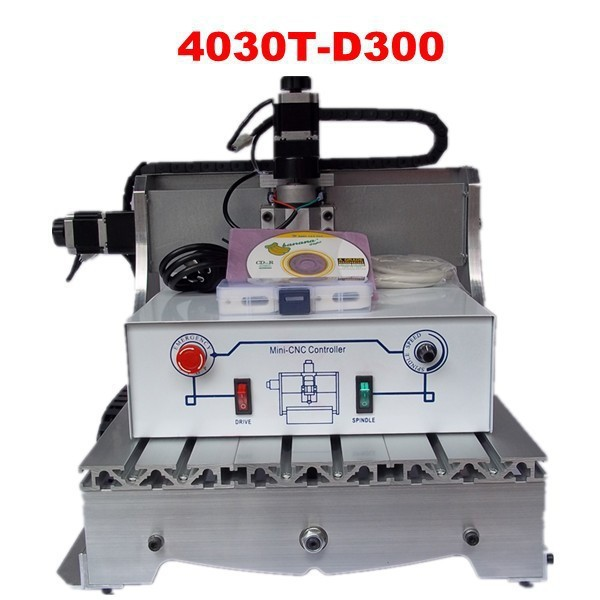 CNC 3040T-D300 milling machine with 300W, upgraded from CNC 3040 engraver EU tax free eur free tax cnc 6040z frame of engraving and milling machine for diy cnc router
