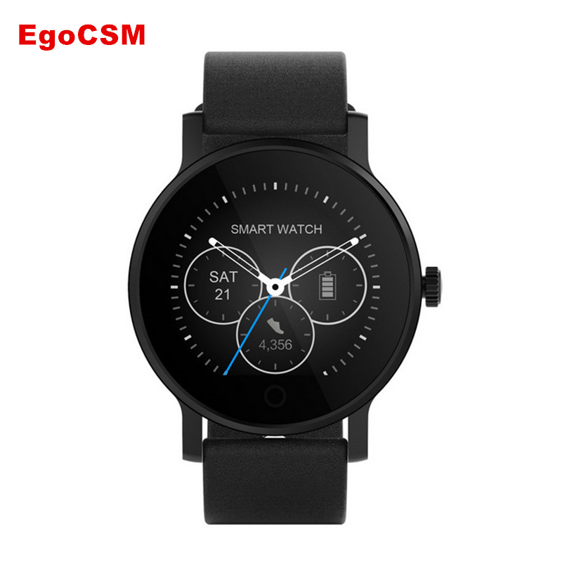EgoCSM SMA-09 Bluetooth Smartwatch with Remote Camera- Heart Rate Monitor Phonebook Sedentary reminder Step counter Facebook