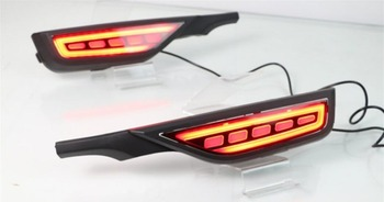 Video display 2pcs Car Styling for Honda Fit Jazz taillights LED 2018 2019year Jazz Fit Tail Lamp car accessories rear light