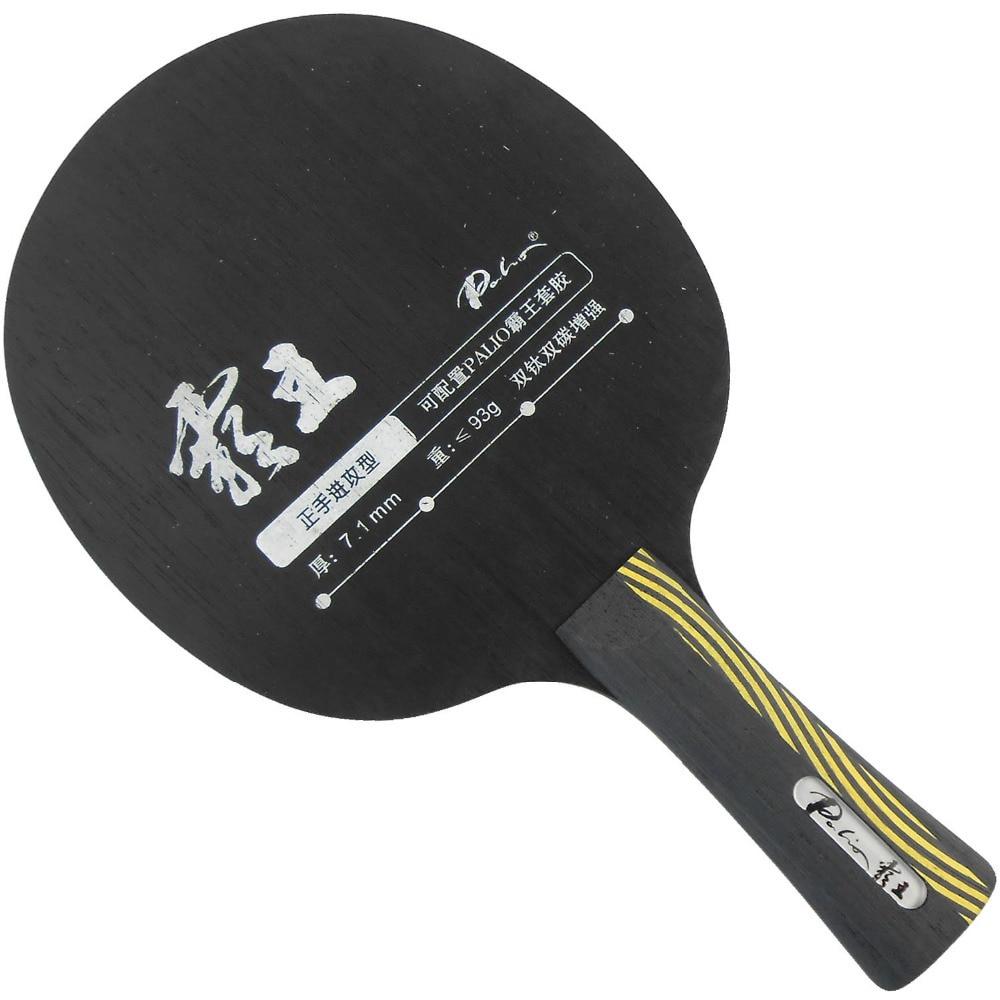 Original Palio Conqueror (Carbon + Ti) bordtennis / pingpongblad