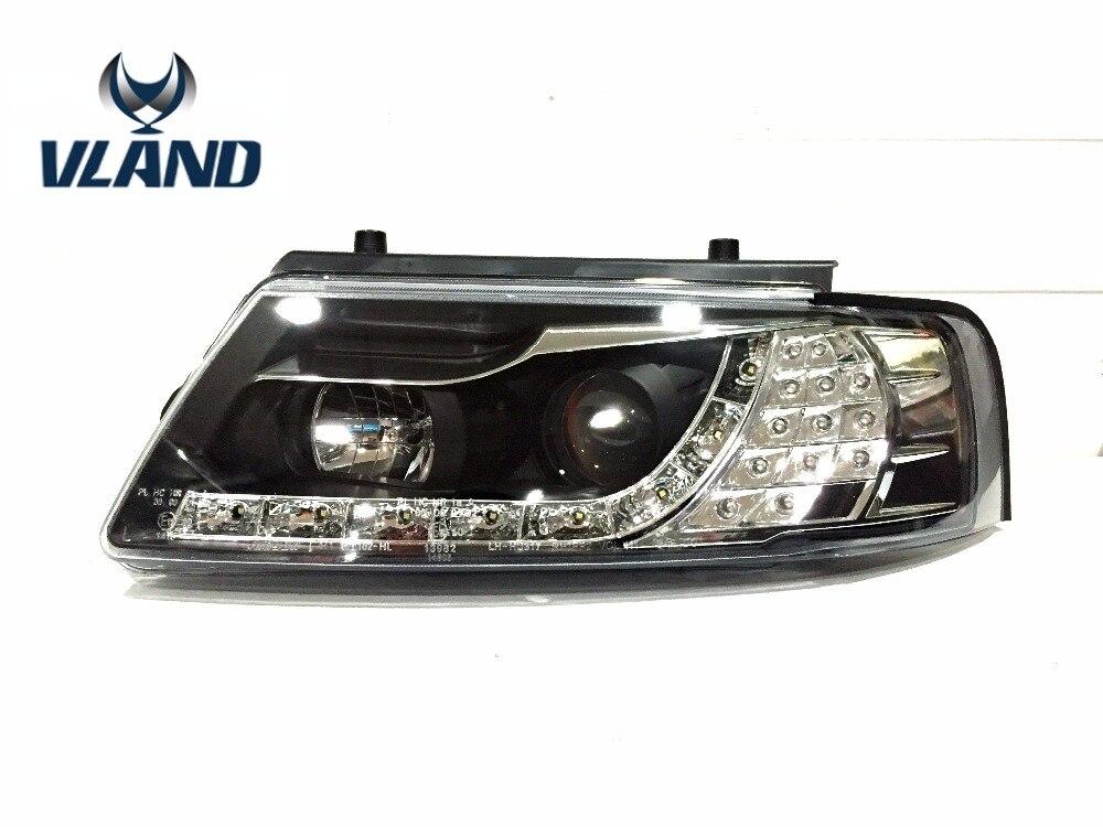 VLAND manufacturer for Car Headlamp for Passat B5 1997 1998 1999 2000 for Passat B5 Headlight LED Head Light HID Xenon Lens