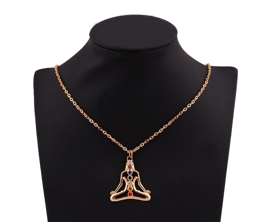 Meditation Chakra Healing Necklace 5