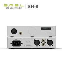 SMSL SH 8 полный сбалансированный Desktop наушники HIFI Мощность усилитель AMP Высокая производительность с RCA/XLR Intput 6,35 мм/сбалансированный Выход