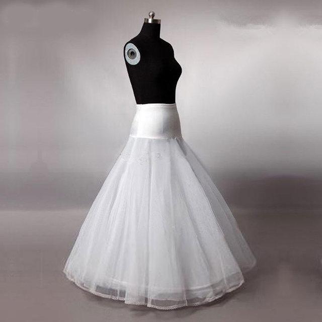 2019 Women Petticoat Crinoline A Line Lace Appliqued Wedding Petticoat Underskirt Bridal Party Accessories