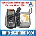 2016 Горячая Продажа D900 OBD2 Сканер Универсальный Автомобилей Неисправности Диагностический Сканер Code Reader OBDII EOBD CANBUS 2015 Версия